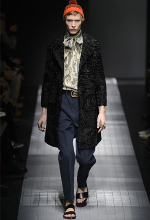 Gucci Mens Fall 2015; Image: IMaxTree