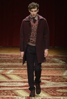 Missoni Men's Fall 2015 Runway