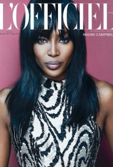 Naomi Campbell Is Stunning as Usual on L'Officiel Ukraine