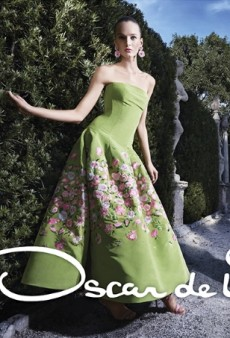 Oscar de la Renta's Spring 2015 Campaign Captures the True Essence of the Brand (Forum Buzz)