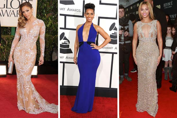 Jennifer Lopez, Alicia Keys, Beyonce; Image: Getty