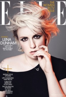 ELLE Magazine Takes Lena Dunham in a Different Direction for Its February Cover (Forum Buzz)