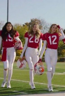Watch: Victoria's Secret Rounds Up Its Angels for a Super Bowl Commercial Teaser