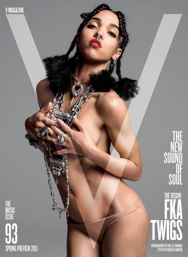 V Magazine Spring Preview FKA Twigs