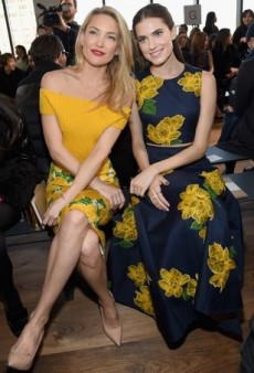 Celebs Check Out New York Fashion Week Fall 2015 in Style
