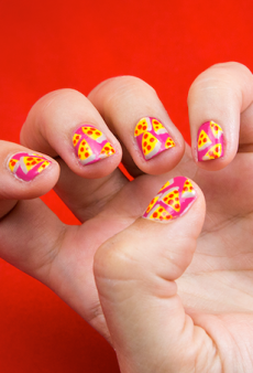 Feast Your Eyes on Pizza Hut's Meaty Nail Polishes