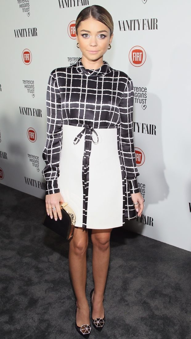 Sarah Hyland represents Young Hollywood in DSquared2