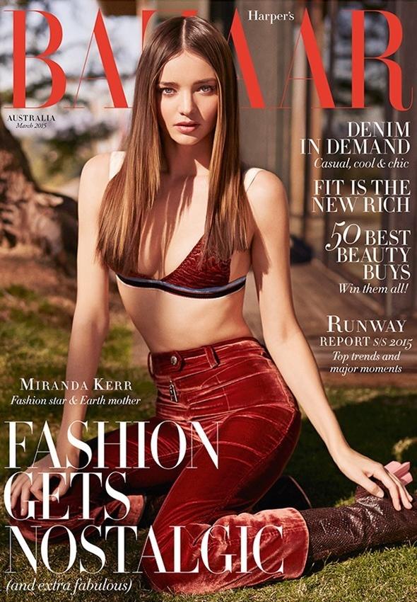 Harper's Bazaar Australia March 2015 Miranda Kerr