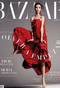Mariacarla Boscono Captivates on Harper's Bazaar Spain (Forum Buzz)
