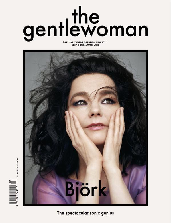 The Gentlewoman Spring 2015 Bjork Alasdair McLellan