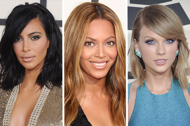 10 Best Beauty Looks From The 2015 Grammys Fashion Spot