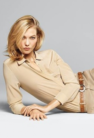 karlie kloss x joe fresh portrait