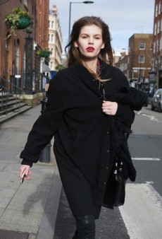 Models Off Duty Showcase Killer Style at London Fashion Week