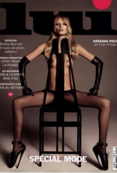 Natasha Poly Goes Topless for Lui Magazine's 'Insane' March Cover (Forum Buzz)