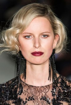 Great Gatsby-Inspired Beauty at Marchesa