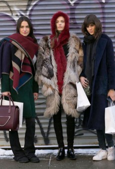 50 Model Off Duty Snaps from NYFW to Inspire Your Winter Look