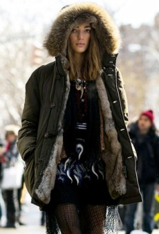 What Polar Vortex? Nothing Stops NYFW's Street Style Stars