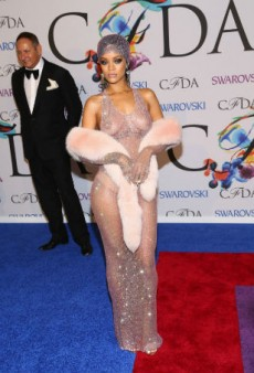 5 of Rihanna's Best Nearly-Naked Moments