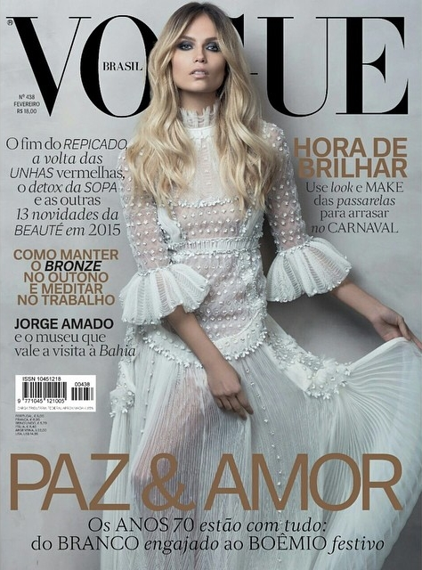 Vogue Brazil February 2015 Natasha Poly