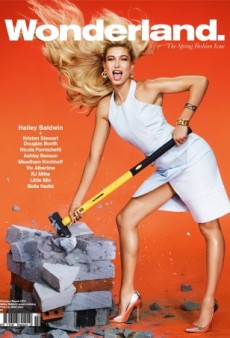 Hailey Baldwin Smashes Her Way Onto the Cover of Wonderland's New Issue (Forum Buzz)
