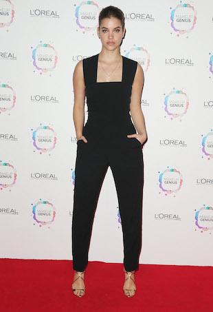 Barbara Palvin Leads the Way at the L'Oreal App Launch in Sydney - theFashionSpot