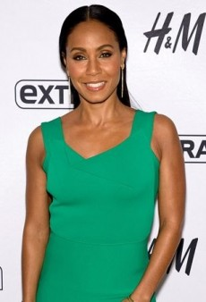 Jada Pinkett Smith Goes Green on 'Extra'