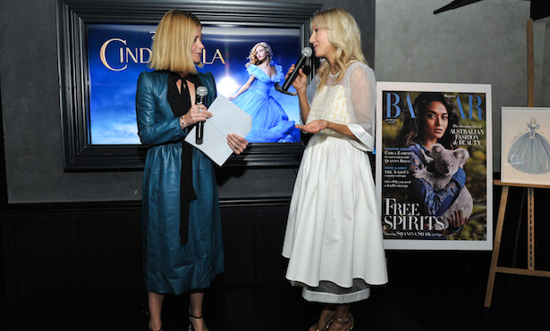 Kellie Hush and Megan Hess Cinderella Premiere