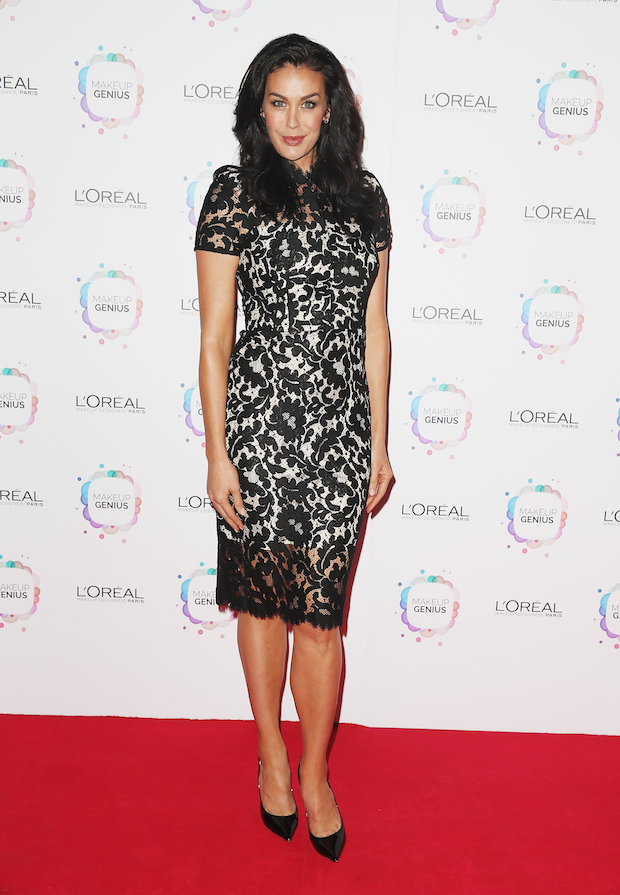 Megan Gale L'Oreal Paris Launch