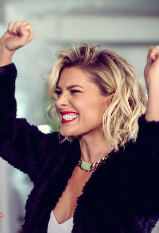 Natalie Bassingthwaighte excited