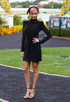 Stars Up the Ante for Nicole Richie's Golden Slipper Appearance