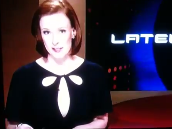 Leigh Sales Lateline penis shirt