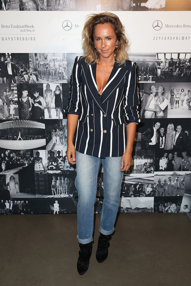 Pip Edwards at MBFWA 2015 Schedule Launch Bondi Icebergs