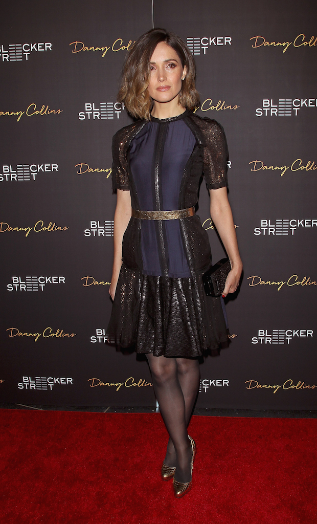 Rose Byrne Dazzles in Lanvin for 'Danny Collins' New York Premiere