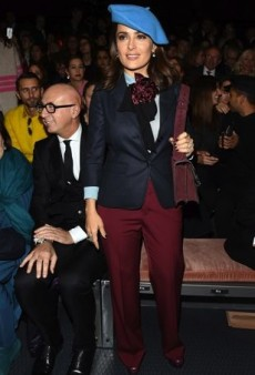 Celebs Mix It Up in the Front Row at the Milan Fall 2015 Shows