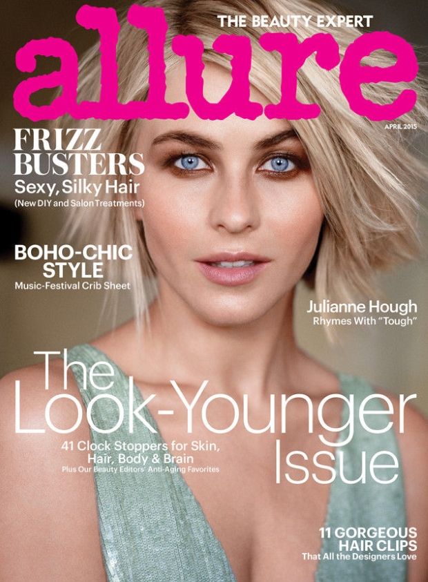 Allure April 2015 Julianne Hough Carter Smith