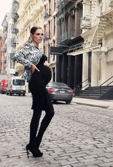Coco Rocha Is Absolutely Acing Pregnancy Style