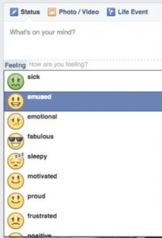 Facebook Gets Rid of Its 'Feeling Fat' Emoticon