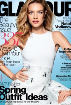 Newsflash! Glamour Features a Model on Its April Cover (Forum Buzz)