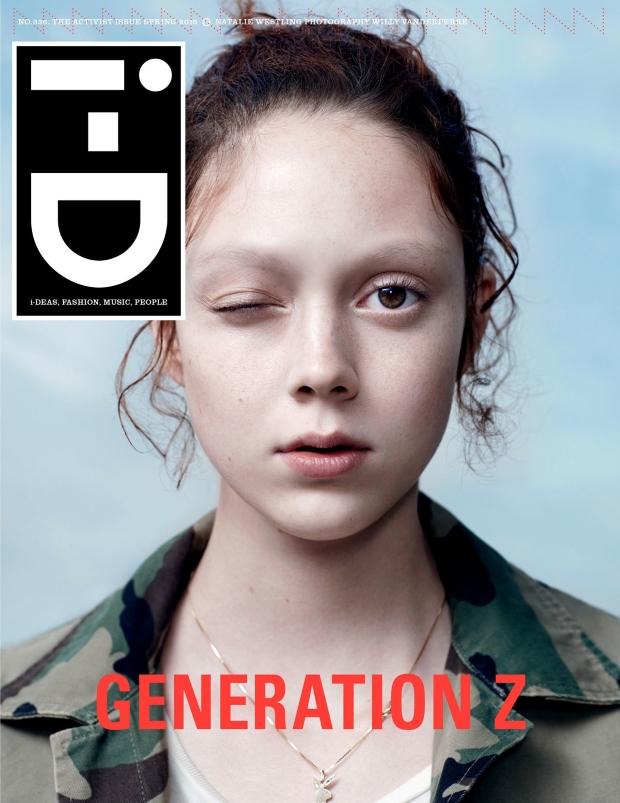 i-D Magazine Spring 2015 Natalie Westling Willy Vanderperre