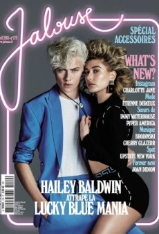 Hailey Baldwin and Lucky Blue Smith Bring Back the 80s on Jalouse's April Cover (Forum Buzz)