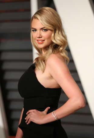 Kate Upton Vanity Fair Oscar Party