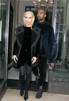 Kim Kardashian Is Platinum Blonde Now