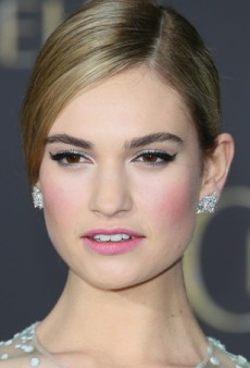 How to Get Lily James' Fairy Tale Makeup Look