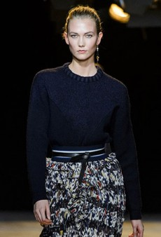 One Minute With … Karlie Kloss at Paris Fashion Week Fall 2015