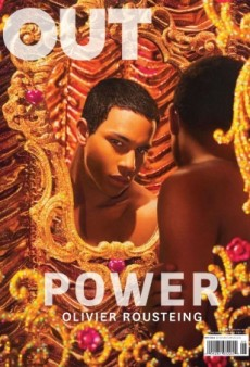 Olivier Rousteing Checks His Reflection on Out Magazine's May Cover (Forum Buzz)