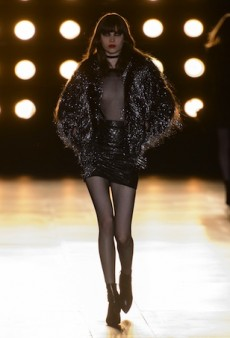 Saint Laurent Fall 2015 Runway