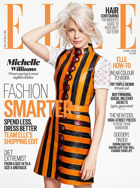 UK Elle April 2015 Michelle Williams