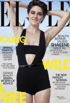 Shailene Woodley Looks 'Awkward' on ELLE's April Cover (Forum Buzz)