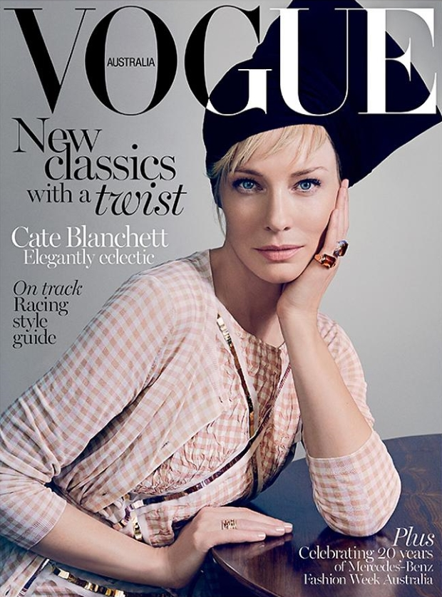 Vogue Australia April 2015 Cate Blanchett Emma Summerton