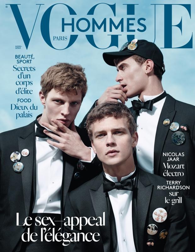 Vogue Hommes International Spring 2015 Willy Vanderperre
